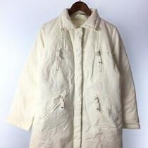 Burberry Blue Label Long Down Jacket 38 Nylon Wht Fnf26-591-02 Photo