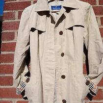 Burberry Blue Label Trench Coat Original Japanese Import Ladies Small Size 8 Photo