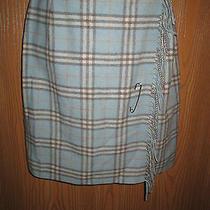 Burberry Blue Skirt Photo