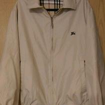 Burberry Bomber Jacket - Men's Xl - Reversible Beige / Novacheck Photo