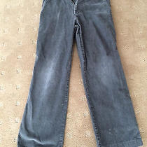 Burberry Boys Corduroy Grey Pants  Size 10y / 140cm  Like New Great Condition Photo