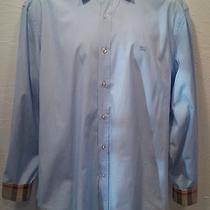 Burberry Brit Nova Scotch Plaid Application Shirt - Size Xxl / Ttg Photo