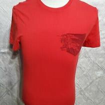Burberry Brit Red Short Sleeve T- Shirt  Sz  Small Petite . Nwot Photo
