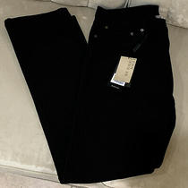 Burberry Brit Steadman Slim-Fit Men's Jeans 38w32l Clean Blk Wash Button Fly Nwt Photo
