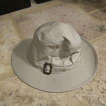 Burberry Bucket Hat--Beige Photo
