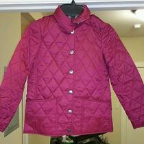 Burberry Children Girls Mini Pirmont Coat 8y Photo