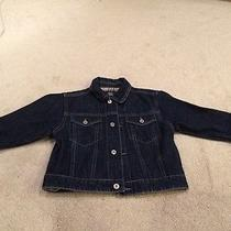 Burberry Children Jean Denim Jacket Size 4t Photo
