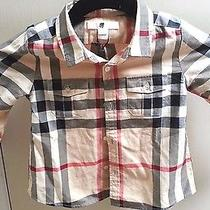 Burberry Children's Boy's Trent Shirt Size 2y Photo