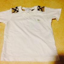 Burberry Children White Polo 3y Photo