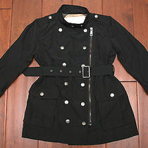 Burberry Childrens - Black Raincoat Size 5y / 110cm Photo
