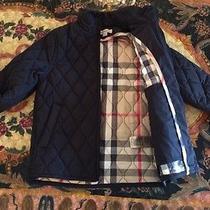 Burberry Childrens Coat 5y 100% Authentic  Retail 395 Photo