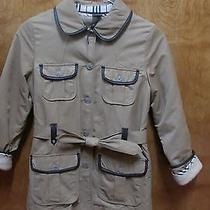 Burberry Childrens Girls Size 8y Fully Lined Spring Jacket Photo