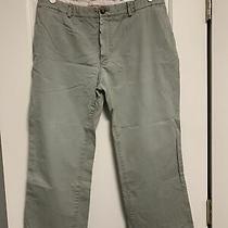 Burberry Chino Khaki London Women's Pants Size 38 Medium Photo