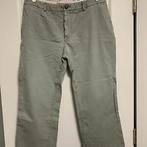 Burberry Chino Khaki London Women's Pants Size 38 Medium Photo