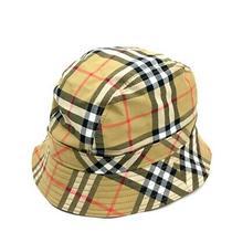 Burberry Classic Check Bucket Hat Beige Cotton 4077290 S/m Photo