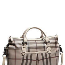 Burberry Classic Check Diaper Bag Photo