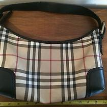 Burberry Classic Design Shoulder Handbag Purse. Hot Find Rare Design Photo