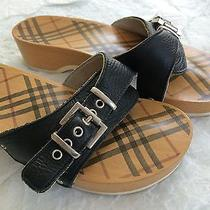 Burberry Clogs - Great for Summer Photo