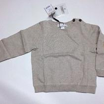 Burberry Cotton Sweater Baby Boys 18 Months Photo