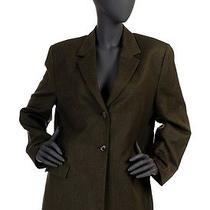 Burberry Dark Green Classic Blazer Jacket Retro Vintage Size Xxl Photo