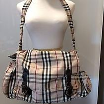 Burberry Diaper Bag With a Changing Pad Used Authentic Photo