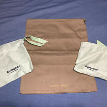 Burberry Dust Bags Lot Shoes Watches  Photo