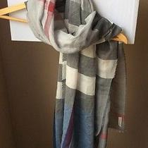 Burberry Giant Check 180x70cm Scarf Nwt Photo