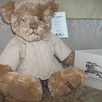 Burberry Gift Card 500.00 With Burberry Bear & Bag Great Gift Free Shipping Photo