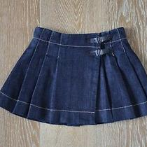 Burberry Girls Denim Skirt Size 5 Lknew Photo
