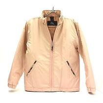 Burberry Girls Rose Classic Bomber Jacket W/plaid Details Photo