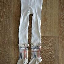 Burberry Girls Tights Size 3-4 Photo