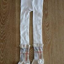 Burberry Girls Tights Size 3-4 Guc Photo