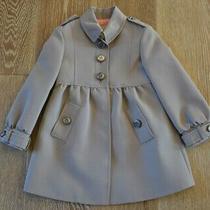 Burberry Girls Trench Coat Jacket Size 4 Nwt Photo