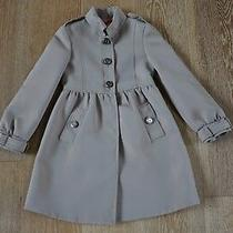 Burberry Girls Trench Coat Jacket Size 8 Nwt Photo