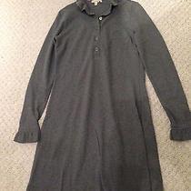 Burberry Gray Grey Dress Size M Beautiful Photo