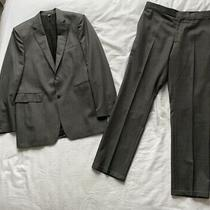 Burberry Grey Jacket and Trousers. Size Italian 52.  Excellent Condition Photo