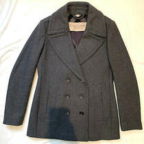 Burberry Grey Women's Jacket. Size Uk 8. Excellent Condition  Photo