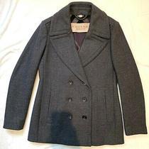 Burberry Grey Women's Jacket. Size Uk 8. Excellent Condition  Photo
