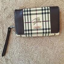 Burberry Handbag Clutch Large Enough to Hold Iphone 6 Plus Photo