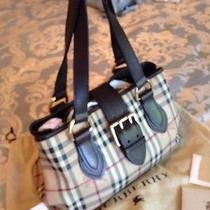 Burberry Handbag Satchel Original Receipt Photo