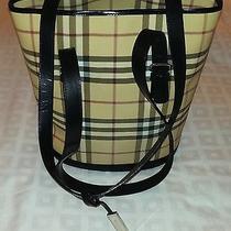 Burberry Handbag Tote Nova Check Shoulder Bag Signature Authentic Free Shipping Photo
