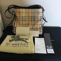 Burberry Haymarket Canterbury Tote/handbag Photo