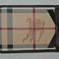 Burberry Haymarket Credit Card / Cell Phone Case Photo