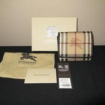 Burberry Haymarket Medium Wallet Photo