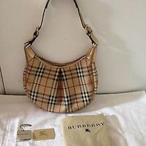 Burberry Haymarket Shoulder Bag Photo