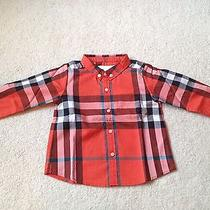 Burberry Infant Boy Classic Shirt 12m Photo