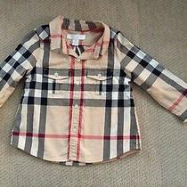 Burberry Infant Check Shirt Photo
