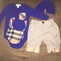 Burberry Infant Set 0-3 Month Boys  Photo