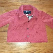 Burberry Infants Barn Coat Red 12 Months Photo