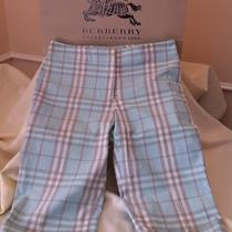 Burberry Ladies Bermuda Short Pants Size  4 Us Authentic Photo
